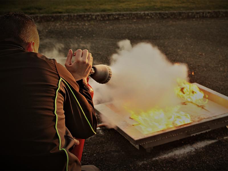 Eteindre un incendie formation Poitiers